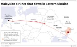 Des avions militaires ukrainiens observés à proximité de l'avion du vol MH17