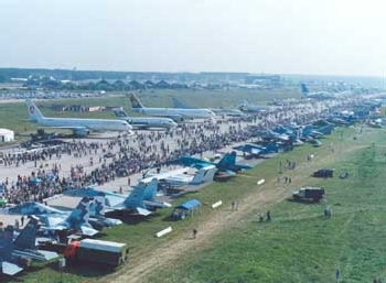 15e édition du salon aérospatial de Moscou (MAKS)