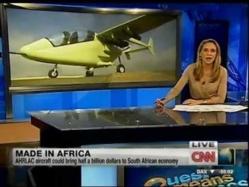 L'avion 100% africain, fabriqué en Afrique du Sud, effectue son premier vol d'essai