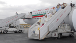 Le train d'atterrissage d'un avion ukrainien affrété par Royal Air Maroc prend feu au Caire