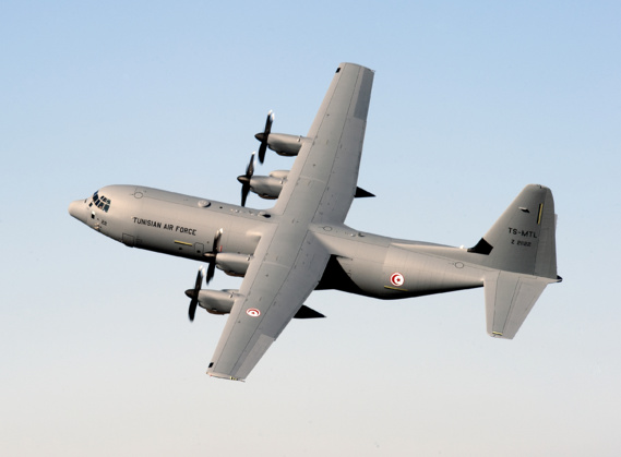 La Tunisie reçoit son deuxième C130J au siège de Lockheed Martin