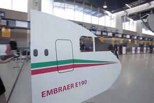 Les premiers passagers découvrent le nouvel Embraer190 de Royal Air Maroc (Vidéo)