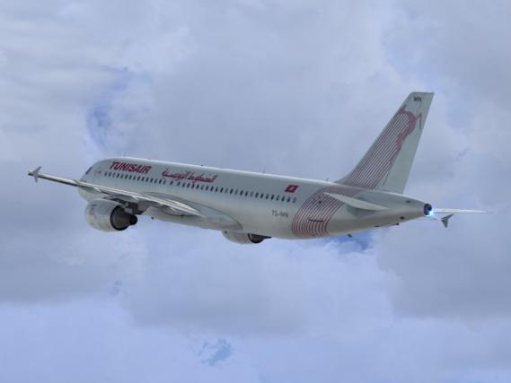 Foudroyés, deux avions restent clouer au sol à l'aéroport de Tunis Carthage