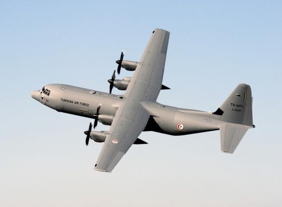 L'Armée de l'air tunisienne reçoit son second avion militaire Hercule C-130J