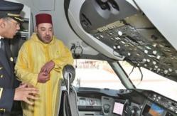 Royal Air Maroc: Le Roi MohammedVI préside la cérémonie de présentation du nouveau Boeing 787 Dreamliner