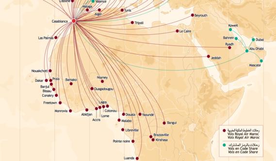 Royal Air Maroc reliera sans escale Casablanca à Kinshasa à partir du février