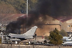 Deux grecs et huit français trouvent la mort après le crash d'un F-16 grec en Espagne