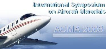 ACMA2008: International Symposium on Composites and Aircraft Materials