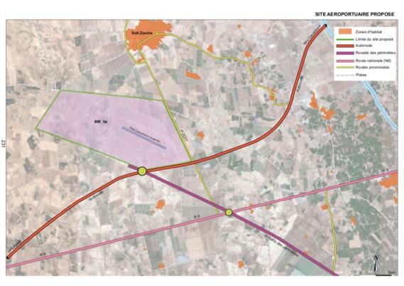 Sidi Zouine retenu pour la construction du deuxième aéroport de la ville de Marrakech
