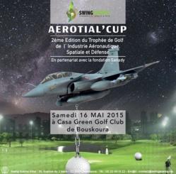 Bouskoura accueille la 2ème édition du Trophée de golf de l'industrie aéronautique, spatiale et défense