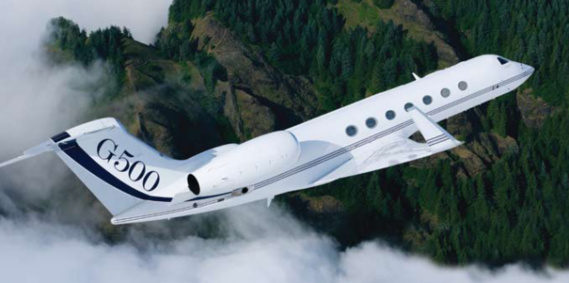 Premier vol réussi du nouvel avion de Gulfstream G500