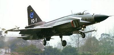Des bombardiers chinois FC-1 pour l'Algérie