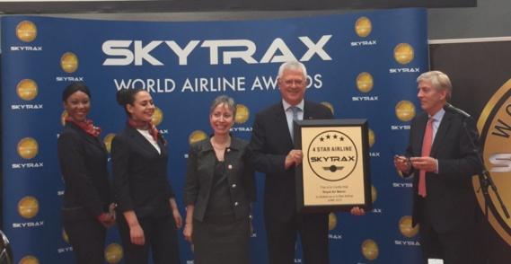 Skytrax: Royal Air Maroc passe du label 3 étoiles au label 4 étoiles en un an