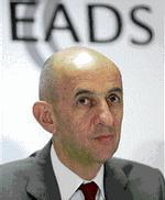 Louis Gallois, président exécutif d'EADS