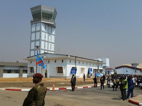 Congo: L'aéroport international de la Luano se dote d'une nouvelle tour de contrôle