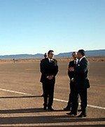 Inauguration d'une plate-forme aéroportuaire à Zagora