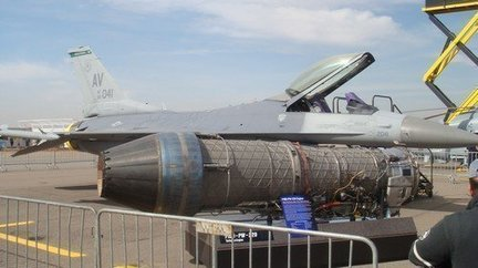F16 à l'AeroExpo Marrakech