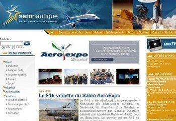 Lancement Officiel depuis Marrakech d'Aeronautique.ma