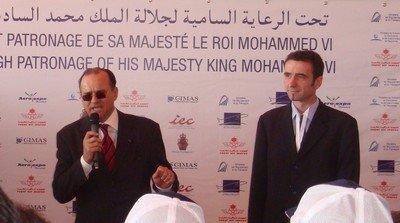 Mr BENALLOU (DG de l'ONDA) et Mr REMEZY (Président de JRP-CAP)