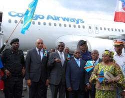 La nouvelle compagnie nationale du Congo lance son premier vol de Kinshasa