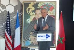 Pose de la première pierre du nouveau site de l'américain Hexcel à Midparc Casablanca
