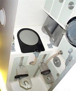 Toilettes de l'ISS