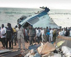 """UTA Guinée - Boeing 727-223 : """"l'avion était surchargé et la cargaison mal centrée"""""""