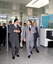 Inauguration du nouveau terminal de l'aéroport Tanger Ibn Battouta