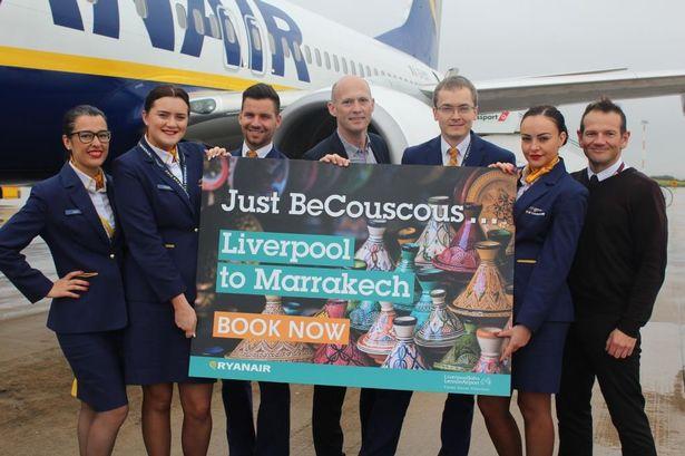 Ryanair relie en vol direct Liverpool à Marrakech 2 fois par semaine