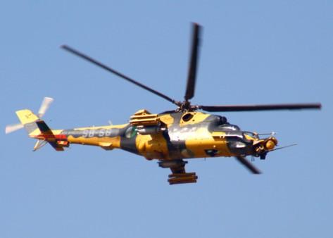 Algérie: Un nouveau crash d'un hélicoptère militaire au sud de Sétif