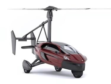 Pal-V Liberty, première voiture volante à 180 Km/h disponible en 2018