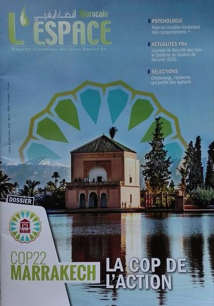 """Le numéro 87 du Magazine des Forces Royales Air """"L'espace marocain"""" est en kiosque"""