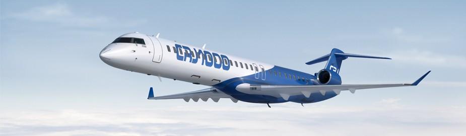 Bombardier fait don d'un avion CRJ100 l'Institut de technologie de la Colombie-Britannique