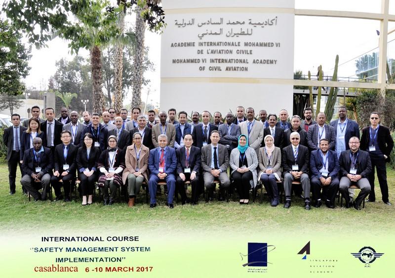 """Stage de formation sous le thème """"Safety Management System Implementation"""" à l'AIAC"""