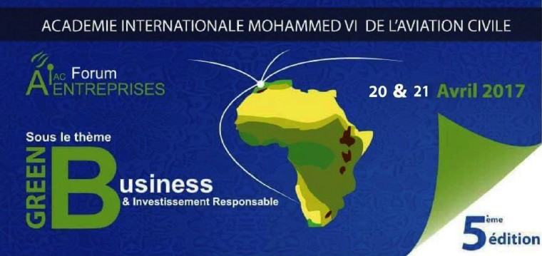 L'Académie Internationale Mohammed VI de l'Aviation Civile organise la 5ème édition du Foum AIAC-ENTREPRISES