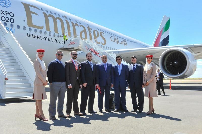 Emirates fait attérrir un A380 pour la première fois à l'aéroport MohammedV de Casablanca