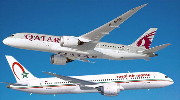 Royal Air Maroc annule ses vols vers les Emirats Arabes Unis, l'Arabie Saoudite, le Yémen, les Maldives, Bahreïn et l'Egypte avec transit à Doha