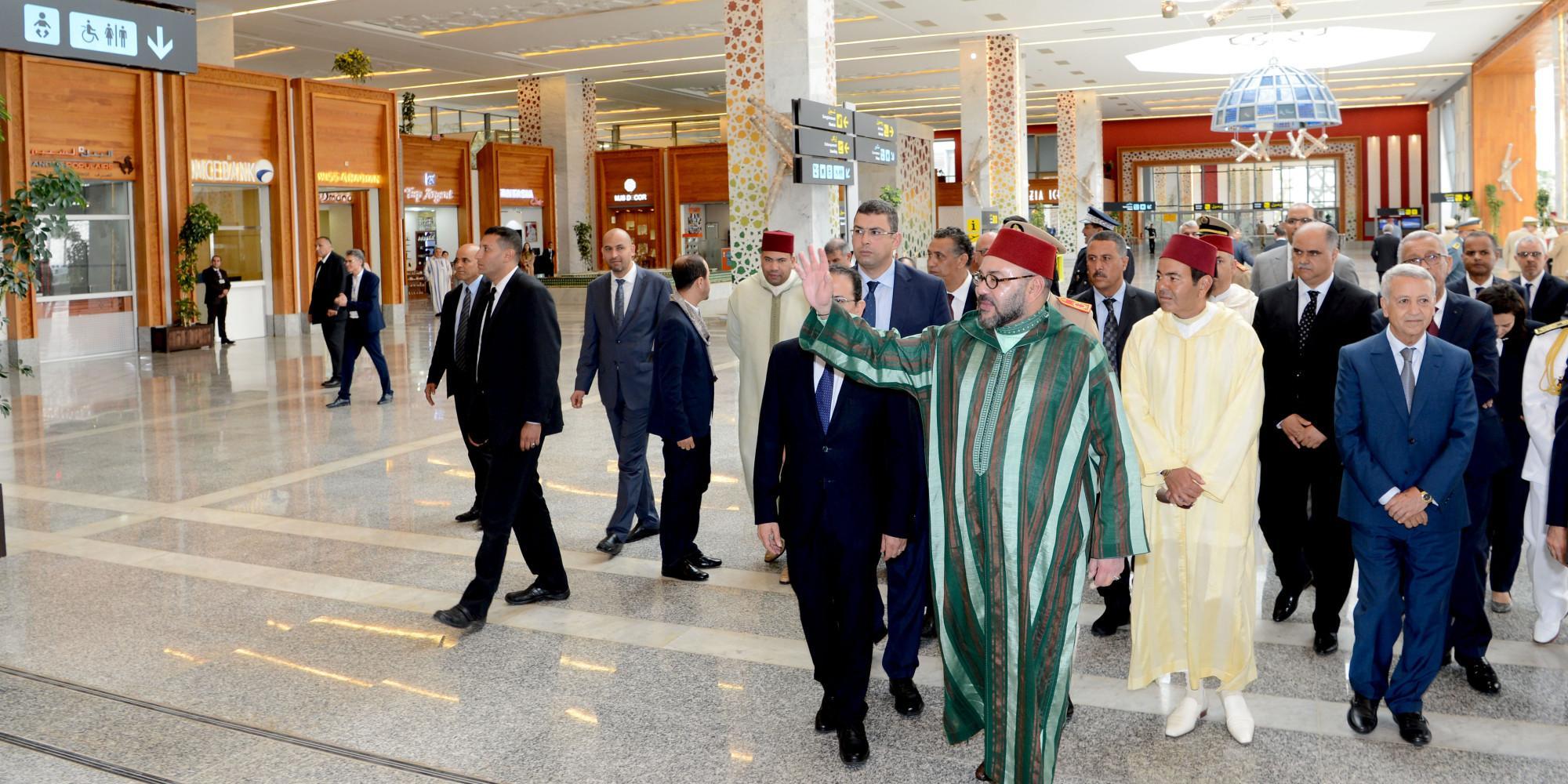 Le nouveau terminal de l'aéroport de Fès inauguré par le Roi Mohammed VI