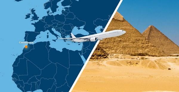 Egypt Air continue à augmenter ses fréquences entre le Caire et Casablanca