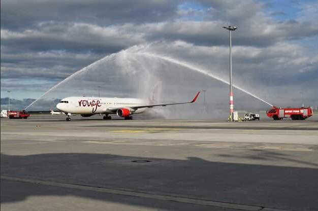 Accueil du premier vol en Juin 2016