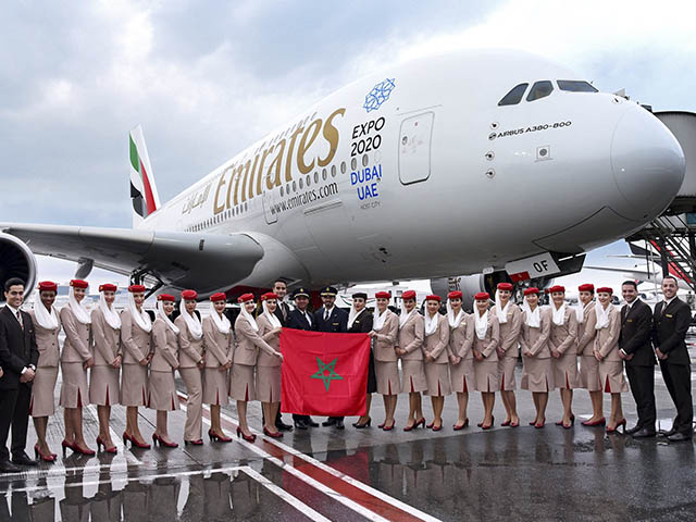 Emirates offre un 3ème bagage gratuit aux voyageurs marocains
