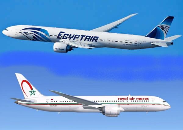 Royal Air Maroc et Egyptair signent un partenariat de partage de codes