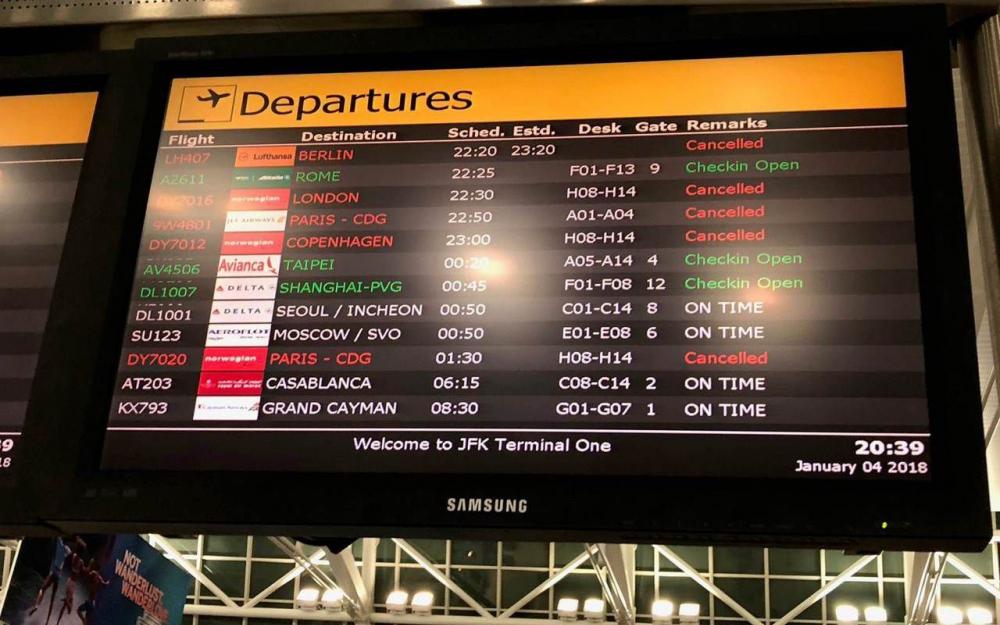Royal Air Maroc: Les conditions météo perturbent la liaison Casablanca-New York