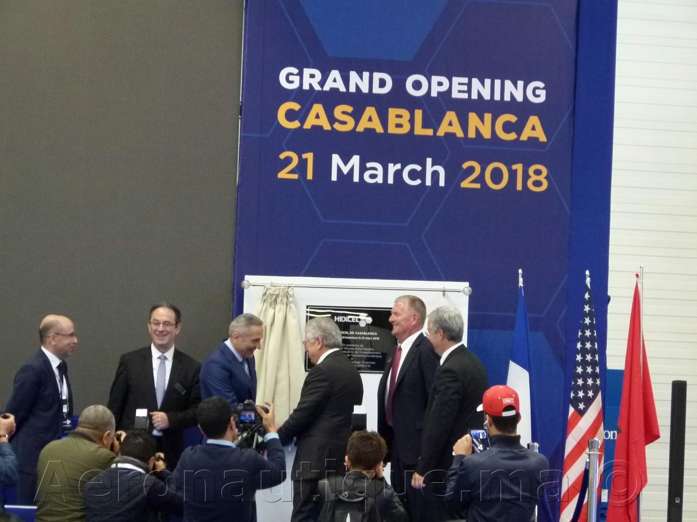 Maroc: L'américain Hexcel inaugure son usine dédiée à l'usinage des matériaux composites à Casablanca