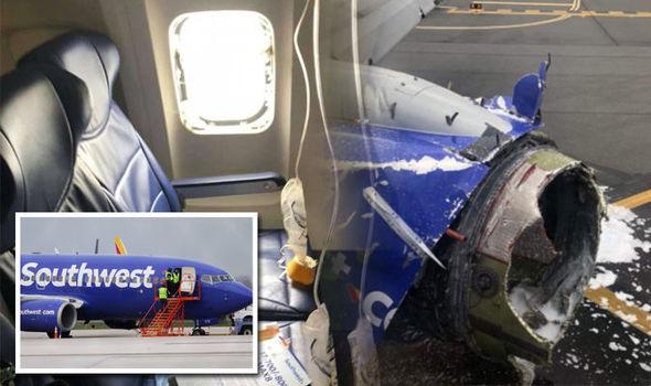 Un des réacteurs d'un avion de Southwest explose en plein vol et fait un mort.