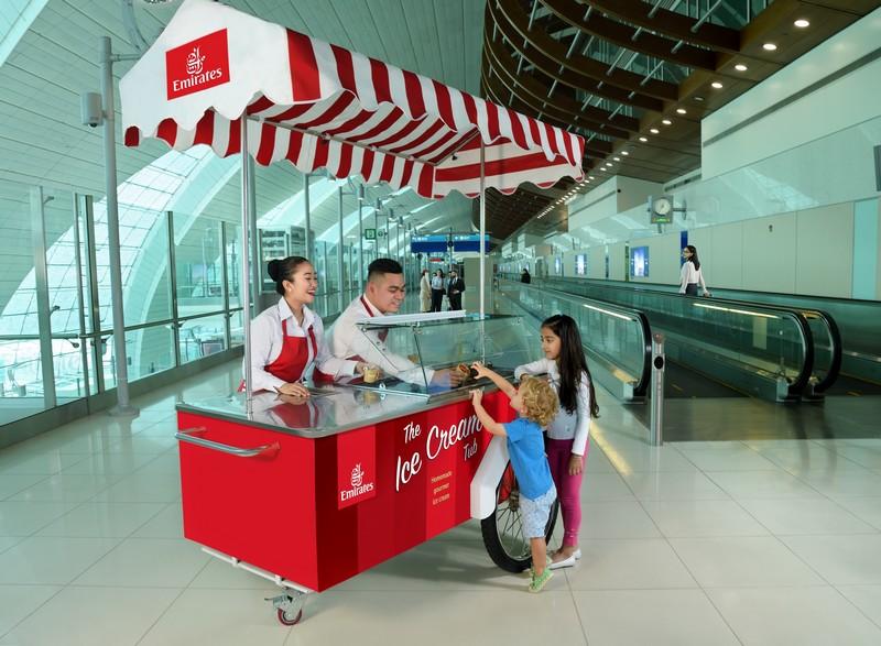 Emirates offrira deux millions de coupes de crème glacée en trois mois