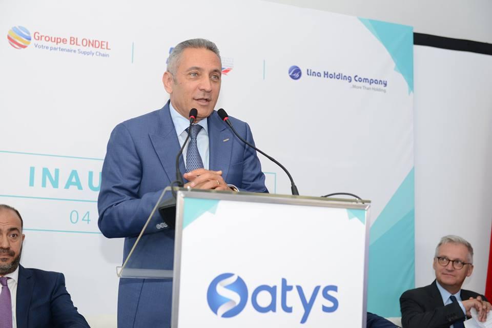 Maroc: Inauguration d'un atelier de peinture d'avions STTS filiale du groupe Satys