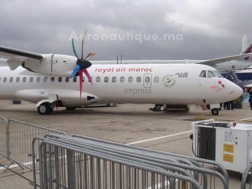 Premier ATR-72 de RAM exposé au Bourget en 2011