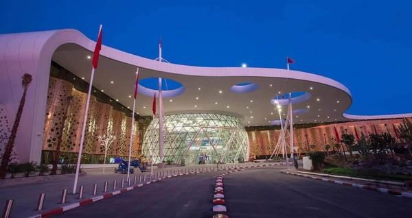 """Des """"E-gates"""" au niveau du salon VIP « Pearl Lounge » à l'aéroport Marrakech Menara"""