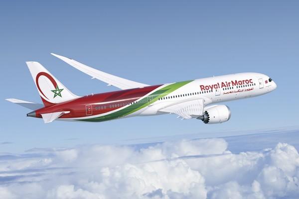 SM le Roi Mohammed VI procède au lancement du premier des quatre Boeing 787-9 acquis par Royal Air Maroc
